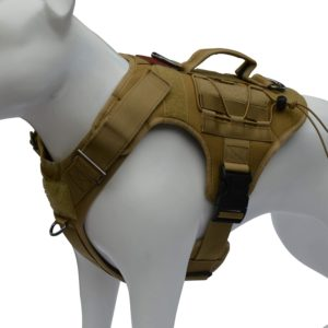 albcorp tactical dog vest harness military k9 dog training vest working dog harness for medium large and xl dog sizes