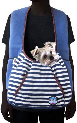 alfie pet amos pet front sling carrier color navy