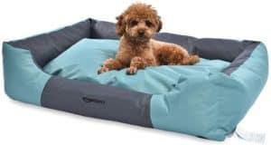 amazon basics water resistant pet bed rectangular