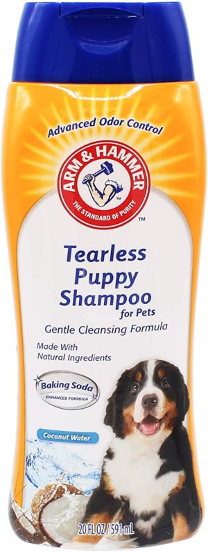 arm hammer tearless puppy shampoo coconut water scent gentle effective tearless shampoo for all dogs puppies pet shampoo for dogs puppy supplies and dog shampoos from arm and hammer