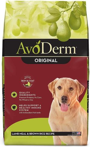 avoderm natural comida para perro