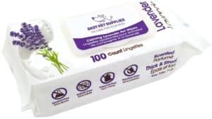 best pet supplies pet wipes for dogs cats extra soft strong grooming wipes with gentle plant derived formula