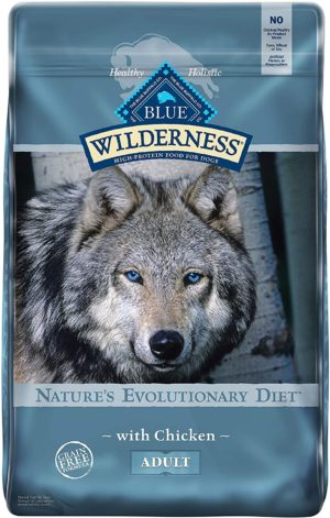 blue buffalo wilderness high protein natural adult dry dog food