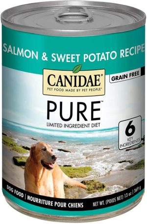 canidae pure grain free limited ingredient premium wet dog food