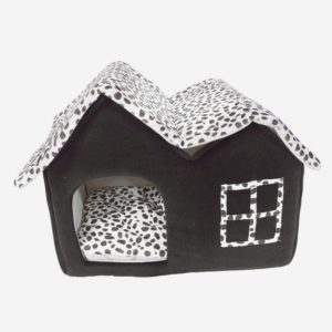 chyoung winter warm pet house bed soft british style portable foldable pet sleeping house indoor pet puppy indoor house with cushion for small medium dog cat animals