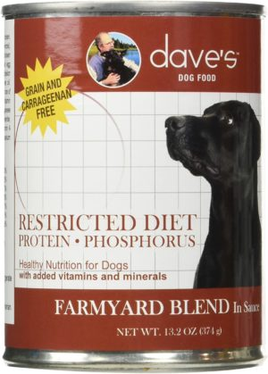 daves pet food dog food restricted bland diet canned dog food 1