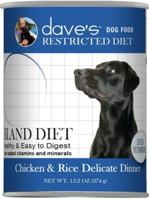daves pet food dog food restricted bland diet canned dog food