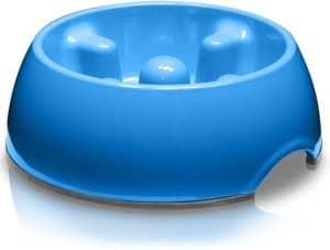 dogit dog bowl slow feeder for wet or dry dog food