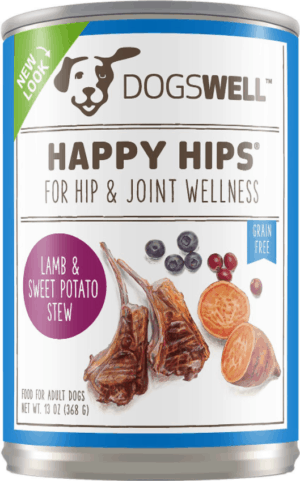 dogswell happy hips lamb and sweet stew recipe grain free canned dog food