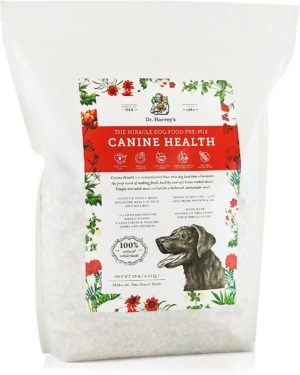 dr harveys canine health miracle dog food human grade dehydrated base mix for dogs with organic whole grains and vegetables