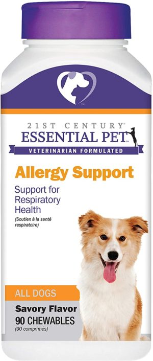 essential pet allergy support for respiratory health in dogs