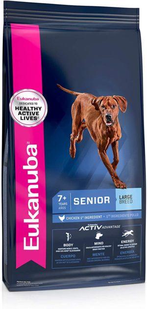 eukanuba senior large breed dry dog food