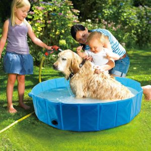 foldable dog bath pool pet bathing tub dog swimming pool bathing tub for pets dogs cats kids two sizes