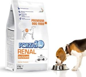 forza10 dry dog food for kidney renal care specially formulated adult dog food for large medium small breeds 8 8 pounds