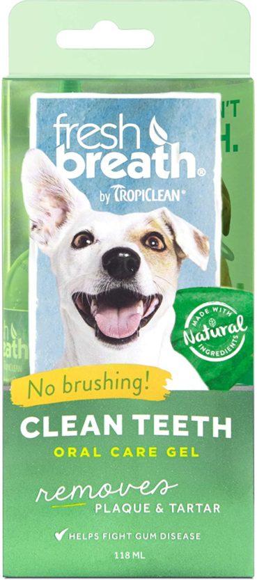 fresh breath clean teeth oral gel by tropiclean
