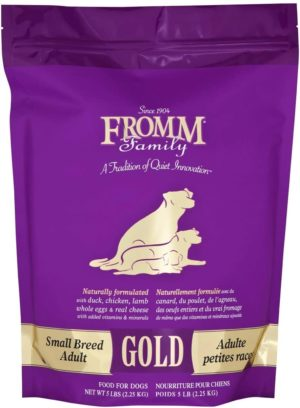 fromm family foods gold small breed adult dry dog food