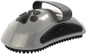 furminator curry comb with rubber teeth for short and medium coats