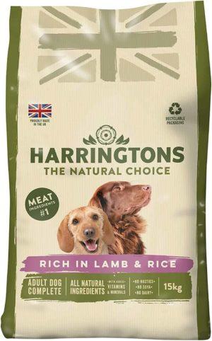 harringtons food complete lamb rice