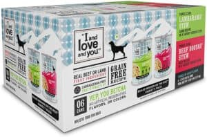 i and love and you naked essentials wet dog food grain free and canned