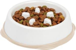 iris usa non slip slow feeder dog bowl non slip dog puzzle bowl