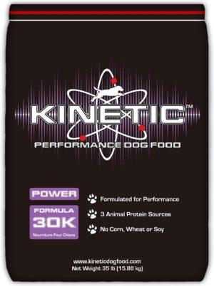 kinetic performance power 30k formula dry dog food