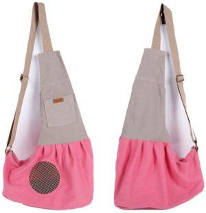 lilys pet pet dog cat puppy sling carrieradjustable pet shoulder bag sling carrier with breathable mesh design