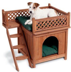 merry pet wood indoor dog house