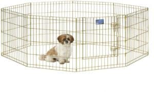 midwest homes for pets folding metal exercise
