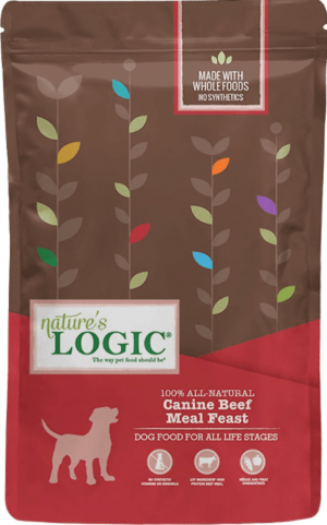 natures logic canine beef meal feast all life stages dry dog food