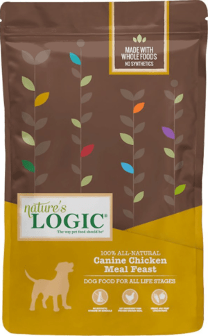 natures logic canine chicken meal feast all life stages dry dog food