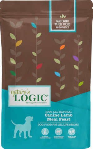 natures logic canine lamb meal feast all life stages dry dog food