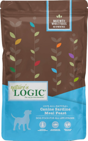 natures logic canine sardine meal feast all life stages dry dog food