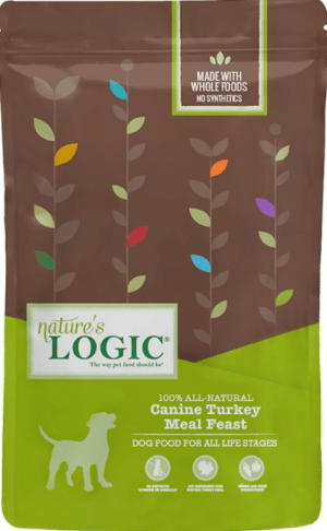 natures logic canine turkey meal feast all life stages dry dog food