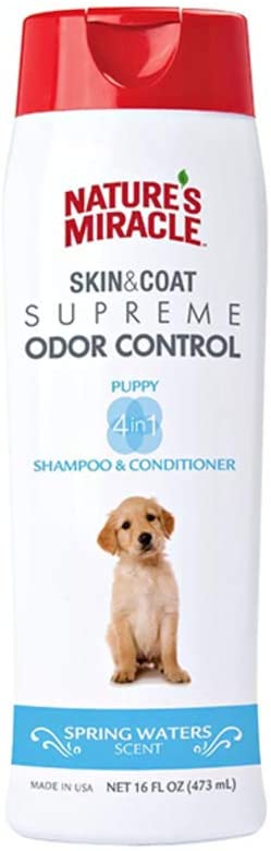 natures miracle puppy shampoo