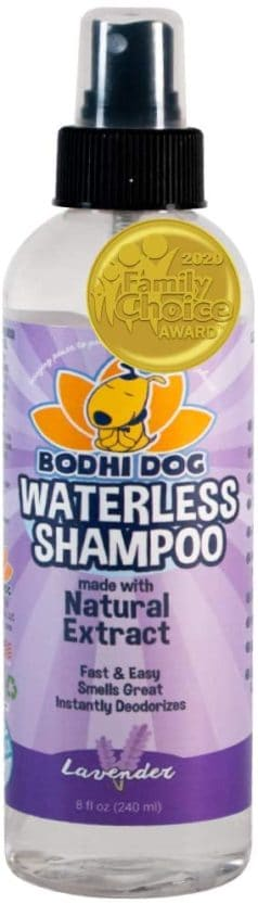 new waterless dog shampoo all natural dry shampoo for dogs or cats no rinse required made with natural extracts vet approved treatment