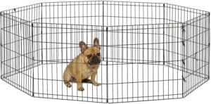 new world pet products foldable metal exercise pen pet playpen Portable Dog Fence