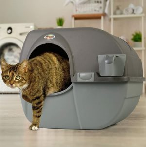omega paw rollnclean self cleaning dog proof litter box