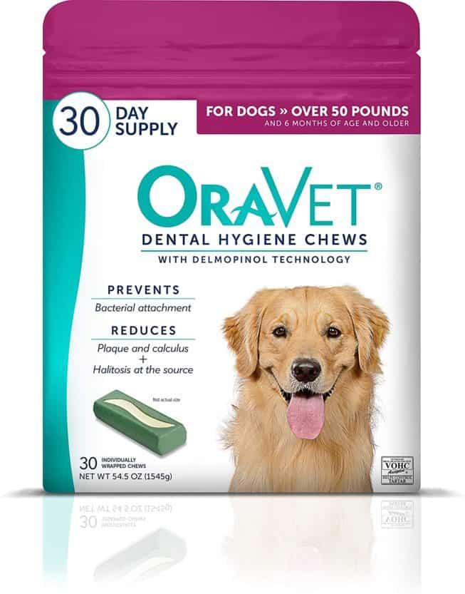 oravet dental hygiene chews