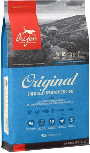 orijen dry dog food grain free high protein fresh and raw animal ingredients 1