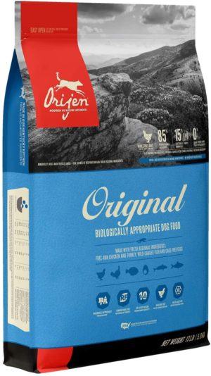 orijen dry dog food grain free high protein fresh and raw animal ingredients