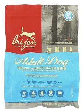 orijen freeze dried adult original formula