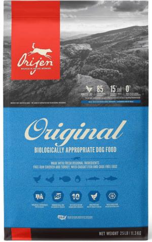 orijen original grain free dry dog food