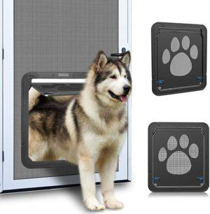 ownpets dog screen door inside door flap