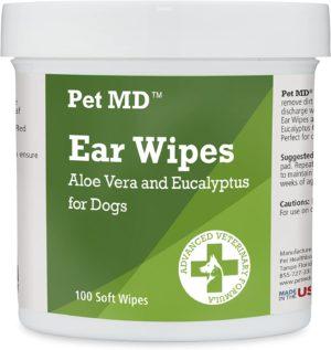 pet md ear wipes 100 soft wipes
