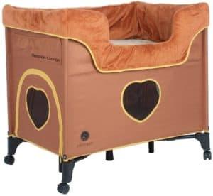petique bd01300104 bedside lounge pet bed one size