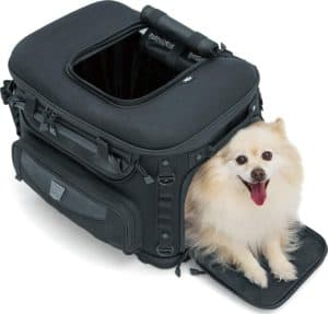 portable weather resistant motorcycle dog cat carrier crate