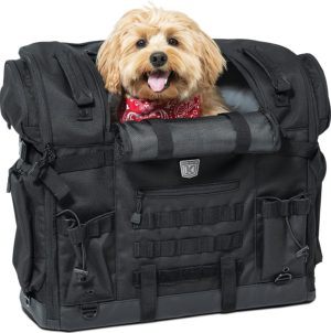 portable weather resistant motorcycle dog or cat carrier crate