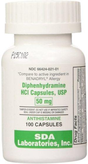 preferred plus allergy diphenhydramine capsules
