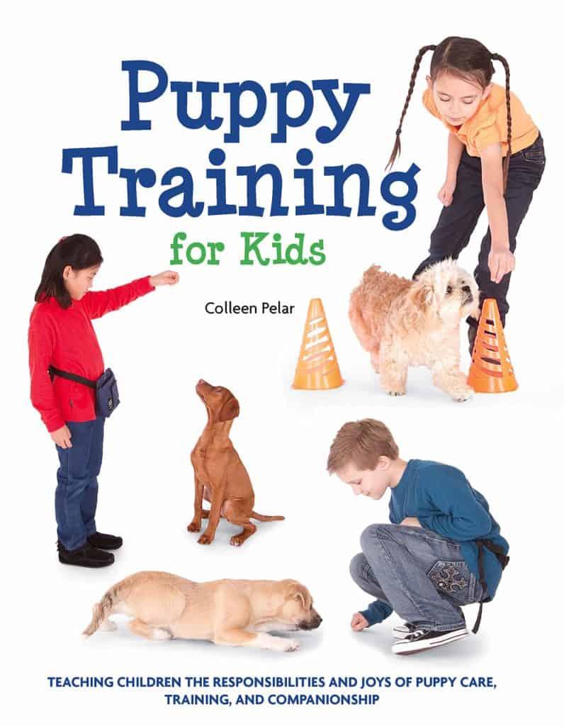puppy training kids colleen pelar