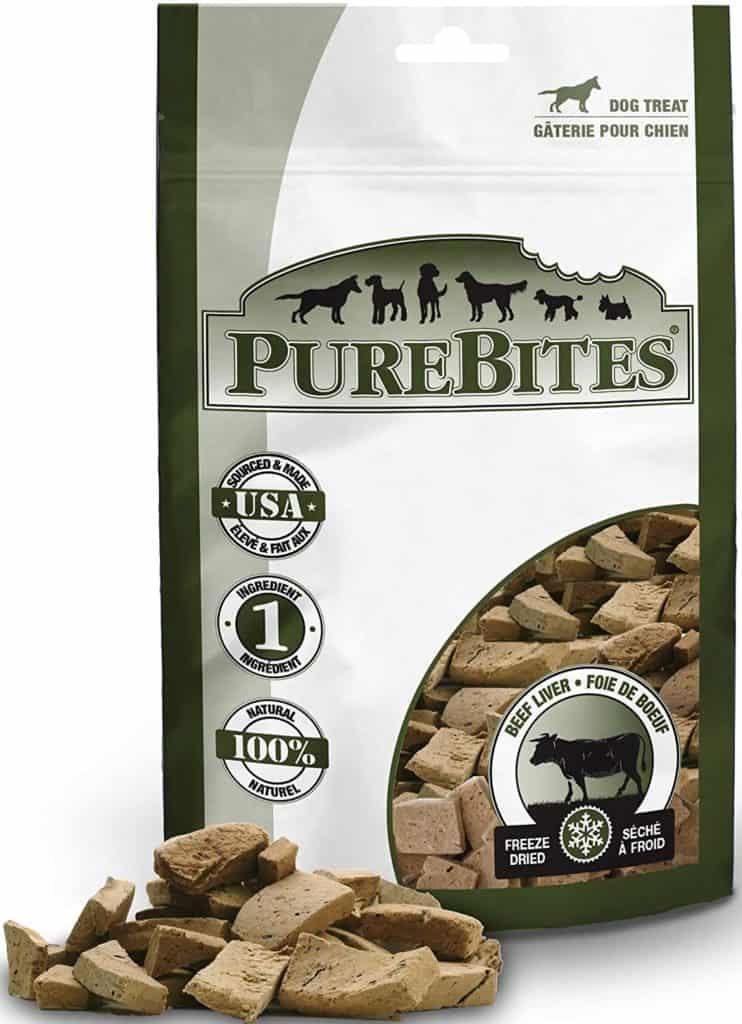 purebites beef liver diabetic dog treats